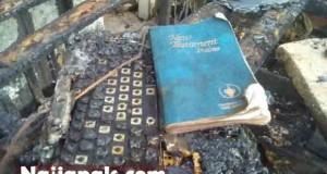 MIRACULOUS! Entire Orphanage Burnt Down By Fire But 3 Bibles Survive The Inferno