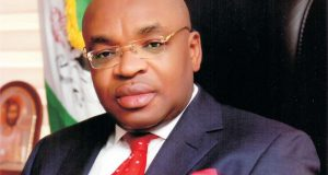 Governor Udom Emmanuel Commissions Rice Processing Mill in Ini