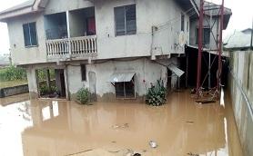 Disaster: Flood Renders Residents Homeless In Uyo