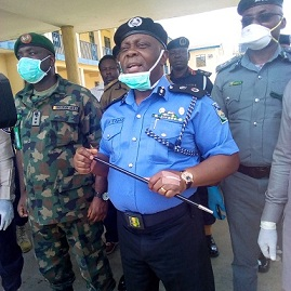 COVID-19: A'Ibom CP Edgal Leads Service Chiefs for Compliance