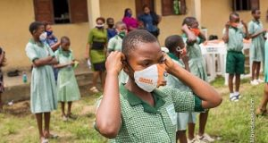 AKSG commences distribution of Facemasks to Public Schools