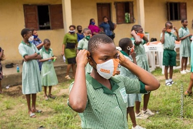 AKSG commences distribution of Facemasks to Public Schools
